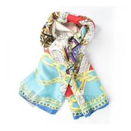 Женский шелковый шарф WJ-25 LANYINGDI, фото 1