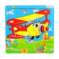 """Детская настольная игра пазл """"Желтый самолетик"""" PT0003 Dolemikki, фото 1"""