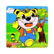 """Детская настольная игра пазл """"Желтая машинка Бип"""" PT0012 Dolemikki, фото 1"""