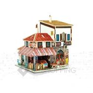 """Сборная деревянная модель дома из серии """"Турция"""" PT0042 Dolemikki, фото 1"""