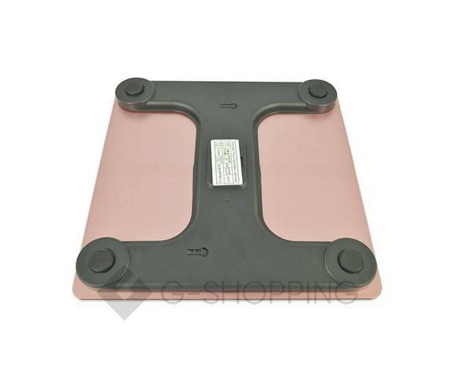 Напольные электронные весы розовые GB-BS001, фото 3