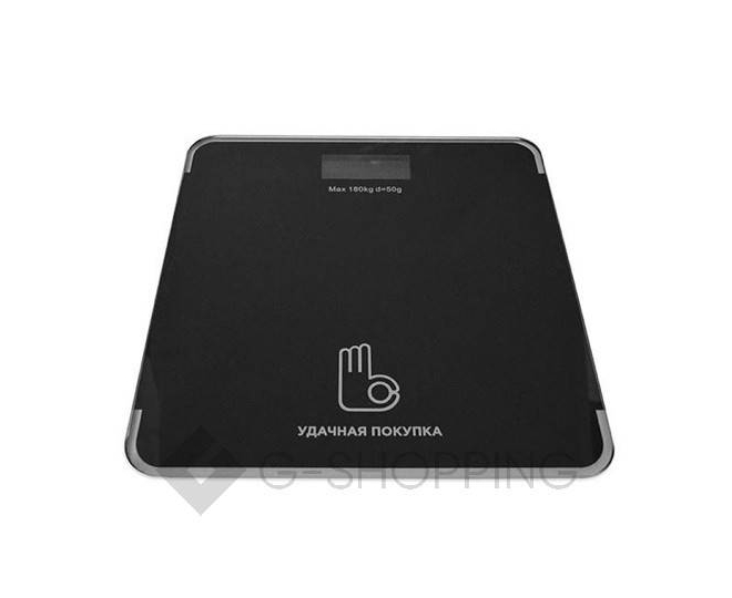 Электронные напольные весы черные GB-BS004, фото 1