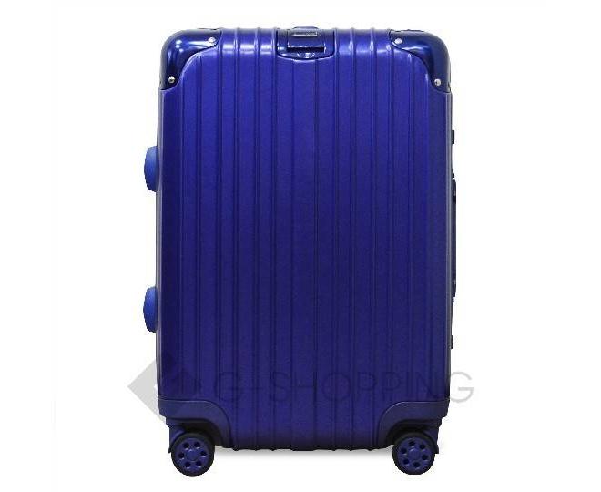Пластиковый чемодан на колесиках синий PC151 4,8кг, фото 2