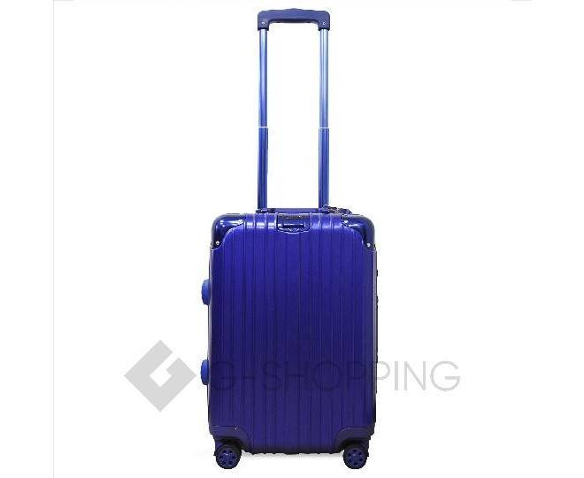 Пластиковый чемодан на колесиках синий PC151 4,8кг, фото 3