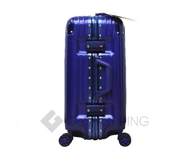 Пластиковый чемодан на колесиках синий PC151 4,8кг, фото 4