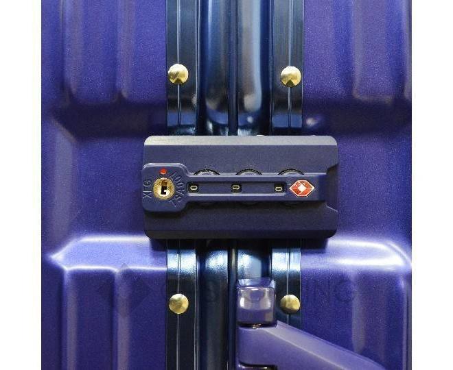 Пластиковый чемодан на колесиках синий PC151 4,8кг, фото 6