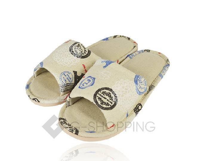 Тапочки мужские с открытым мысом на резиновой подошве TX-RS17 размер 43, фото 3