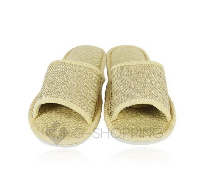 Тапочки мужские бежевые TX-YM15 размер 43, фото 3