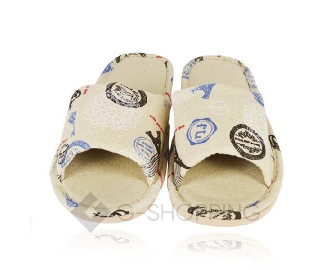 Тапочки мужские с открытым мысом на резиновой подошве TX-RS17 размер 44, фото 2