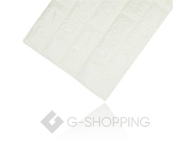 Мягкие декоративные самоклеющиеся панели для стен мягкие белые 70*77*0.1, фото 8