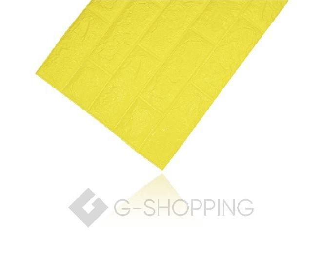 Панели для стен мягкие желтые 70*77*0.1, фото 8