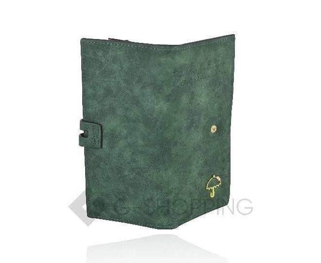 Женский блестящий клатч-кошелек на молнии черный C168-01 KINGTH GOLDN