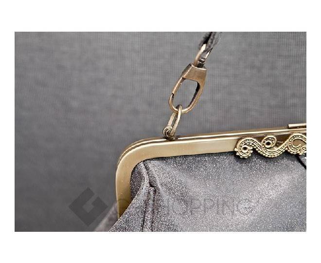 Женская повседневная светло-серая сумка среднего размера c086 Kingth Goldn, фото 8
