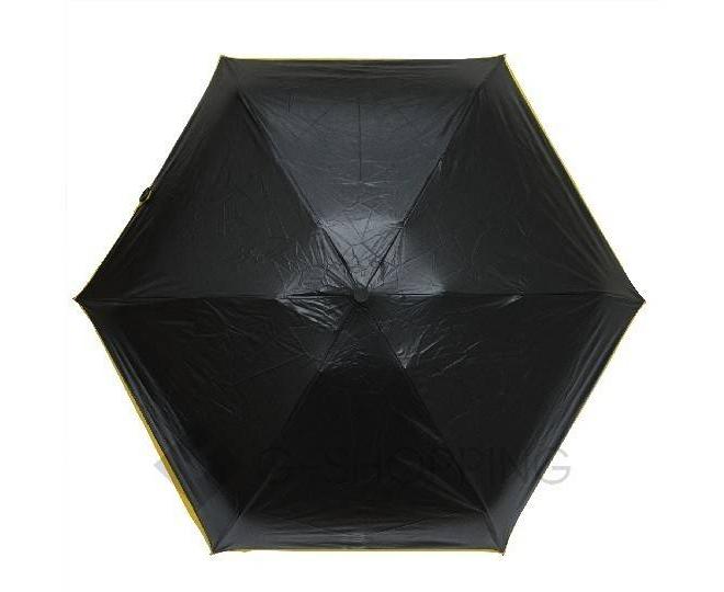 Стильный складной желтый зонт 90 см YS01-21  Удачная покупка