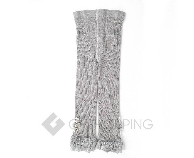 Леггинсы детские DDK-03 серый бисер LANYINGDI M, фото 1