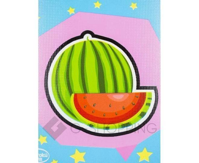 """Детская игра развивающий коврик пазл 3D Meitoku """"Cочные фрукты"""" 9 деталей, фото 5"""