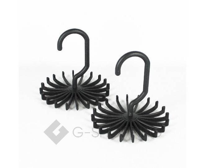 Вешалка черная для галстуков и ремней LDJ-03, фото 2