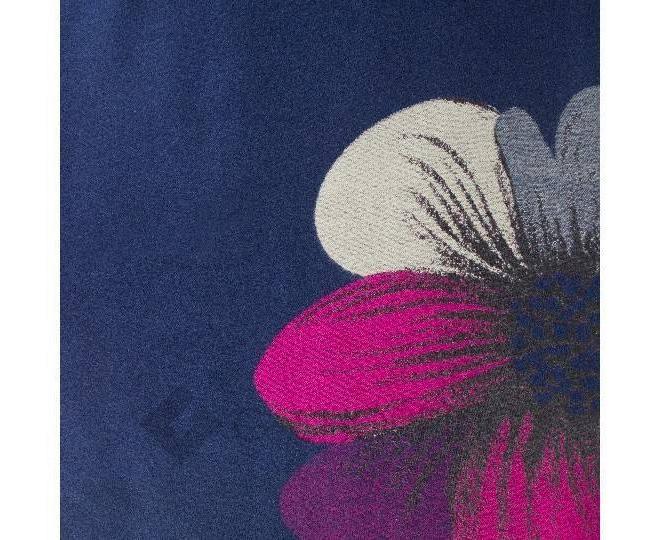 "Шарф с флисом WJ-03 ""Фиолетовый цветок"" LANYINGDI"