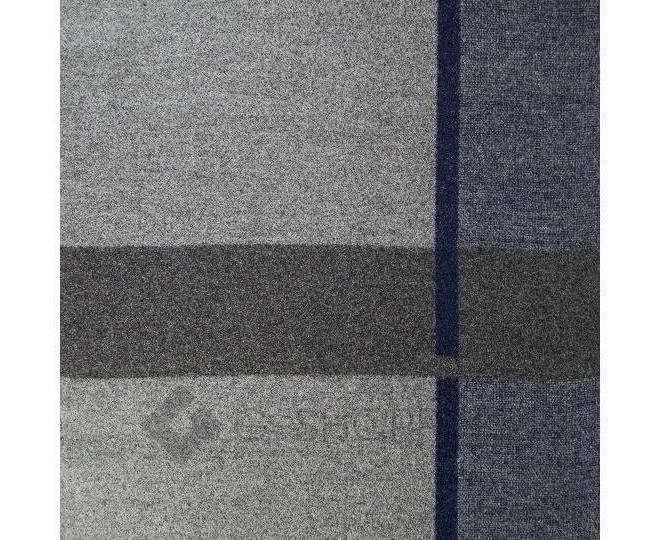 """Шарф с флисом WJ-18 серый """"Прямоугольник"""" LANYINGDI"""