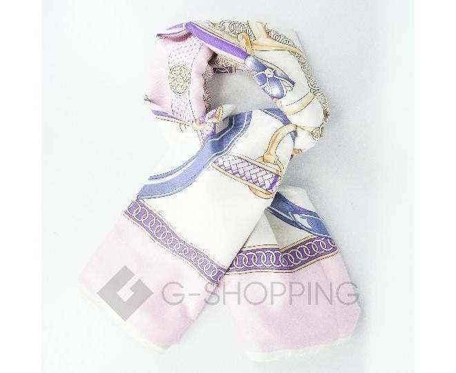 Женский шелковый шарф WJ-21 LANYINGDI
