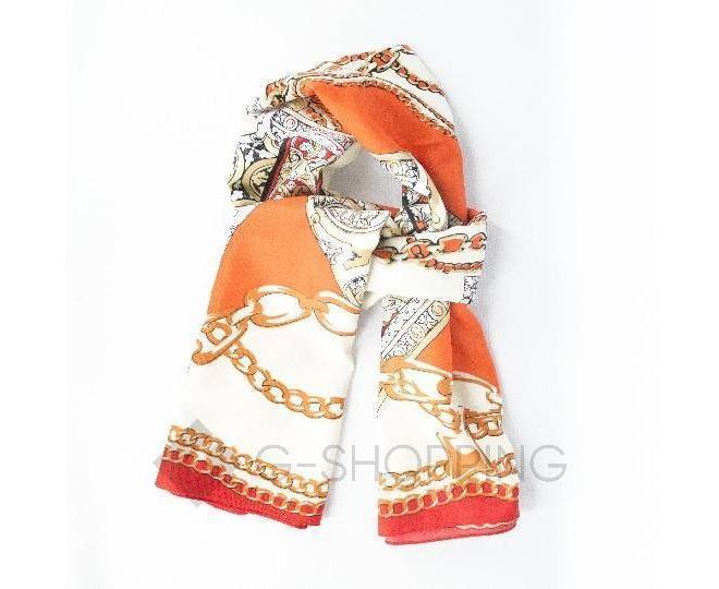 Женский шелковый шарф WJ-22 LANYINGDI