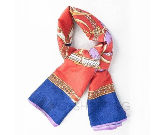 Женский шелковый шарф WJ-30 LANYINGDI