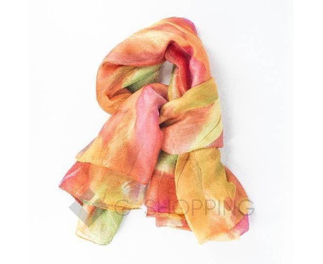 Женский шелковый шарф  WJ-44 LANYINGDI