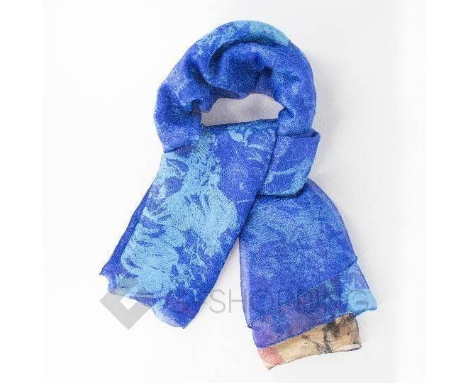 Женский шелковый шарф WJ-45 LANYINGDI