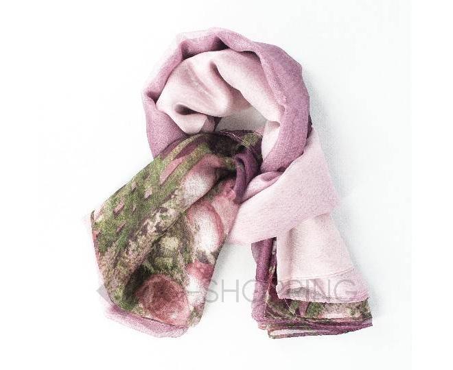 Женский шелковый шарф  WJ-50 LANYINGDI