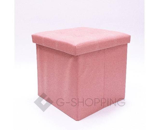 Табурет-ящик RYP56-11-38 38х38 розовый, фото 1