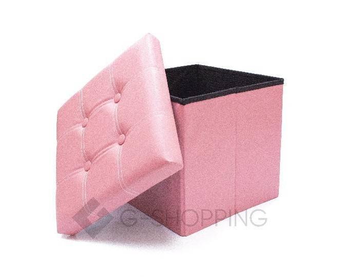 Табурет-ящик RYP56-11-38 38х38 розовый, фото 2