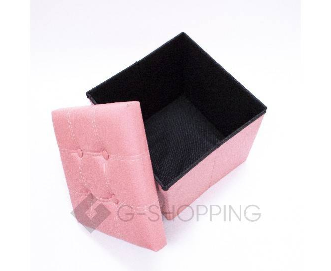 Табурет-ящик RYP56-11-38 38х38 розовый, фото 3