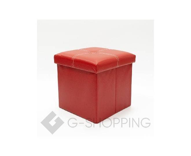 Табурет-ящик RYP56-08-30 30х30 красный, фото 1