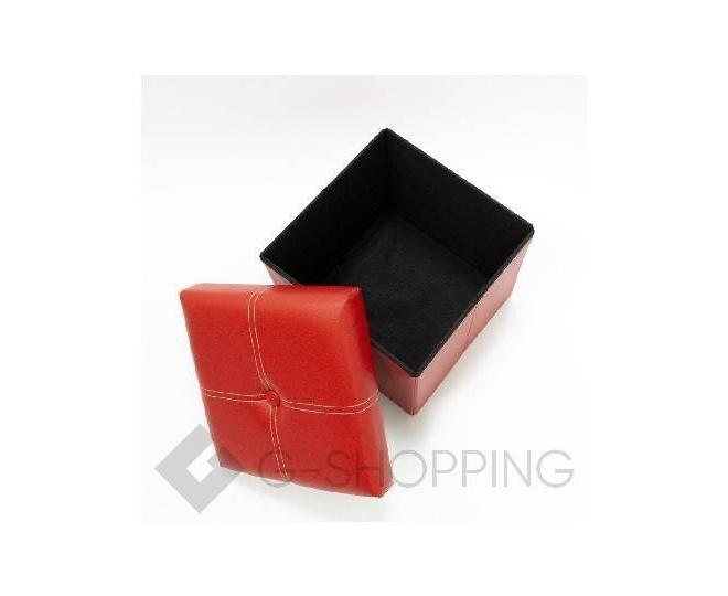 Табурет-ящик RYP56-08-30 30х30 красный, фото 3