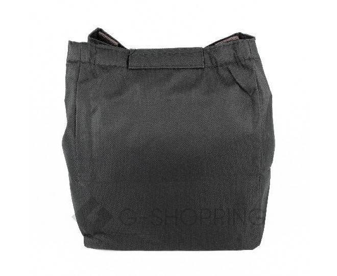 Женская черная текстильная термосумка среднего размера с принтом C095, фото 6