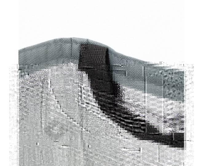 Женская темно серая текстильная термосумка среднего размера с принтом C096, фото 8