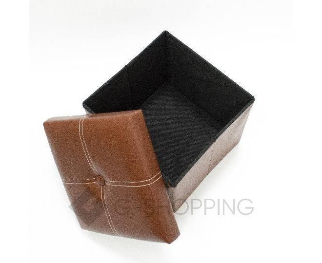Табурет-ящик RYP56-27-30 30х30 коричневый, фото 3