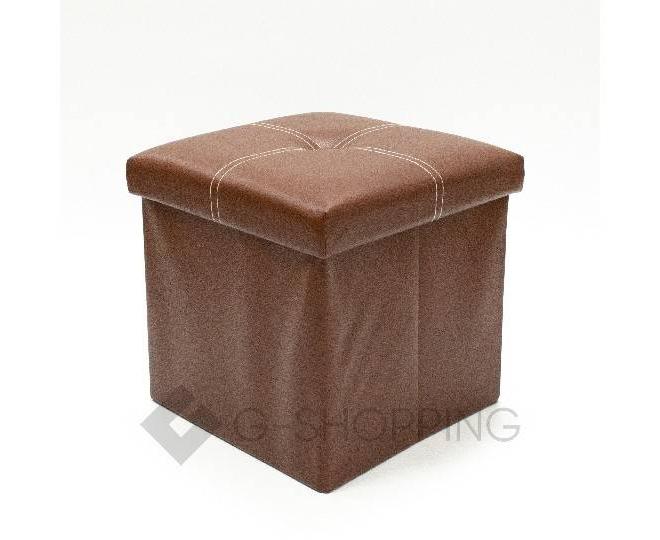 Табурет-ящик RYP56-27-30 30х30 коричневый, фото 1