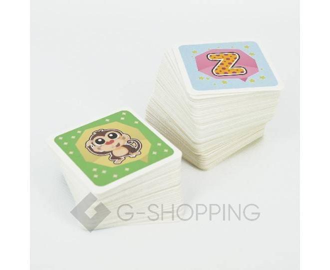 Детская игра карты игральные Meitoku 3D, фото 3