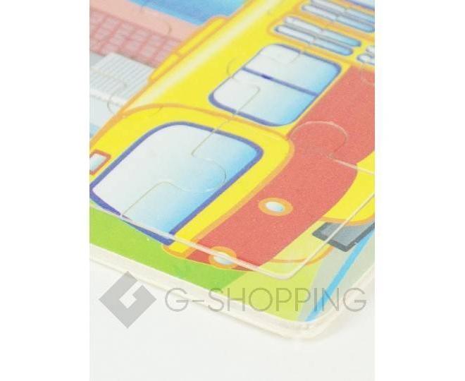 """Детская настольная игра пазл """"Желтый трамвай"""" PT0004  Dolemikki, фото 2"""