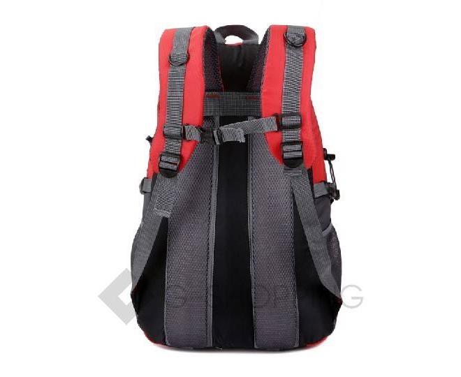 Рюкзак красный Kingth Goldn, фото 2