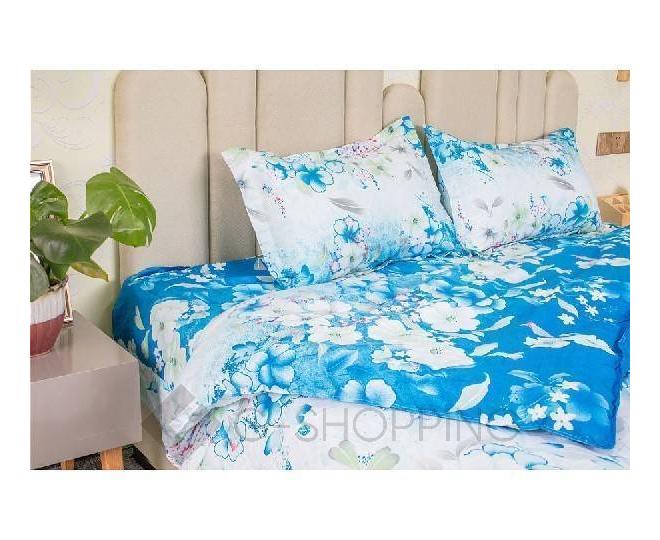 Постельное белье SJT0003 синее, фото 4
