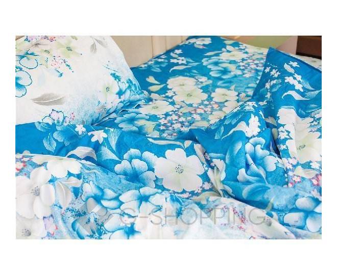 Постельное белье SJT0003 синее, фото 2