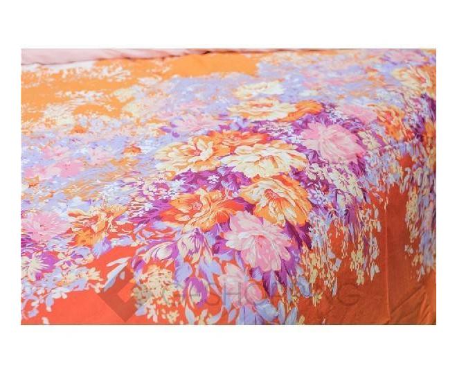 Постельное белье SJT0005 оранжевое, фото 3