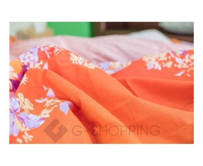 Постельное белье SJT0005 оранжевое, фото 6