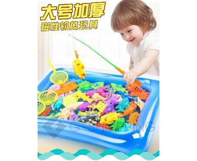 """Детская развивающая игра """"Игрушечный пруд"""" WJ0023 Dolemikki, фото 3"""