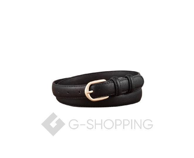 Ремень женский WSPD02-01 черный Kingth Goldn, фото 1
