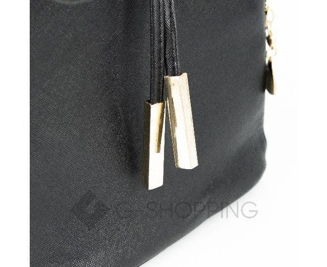 Женский рюкзак из экокожи черный C107-01 Kingth Goldn, фото 7