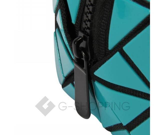 Сумка-клатч женская бирюзовая C114-16, фото 3