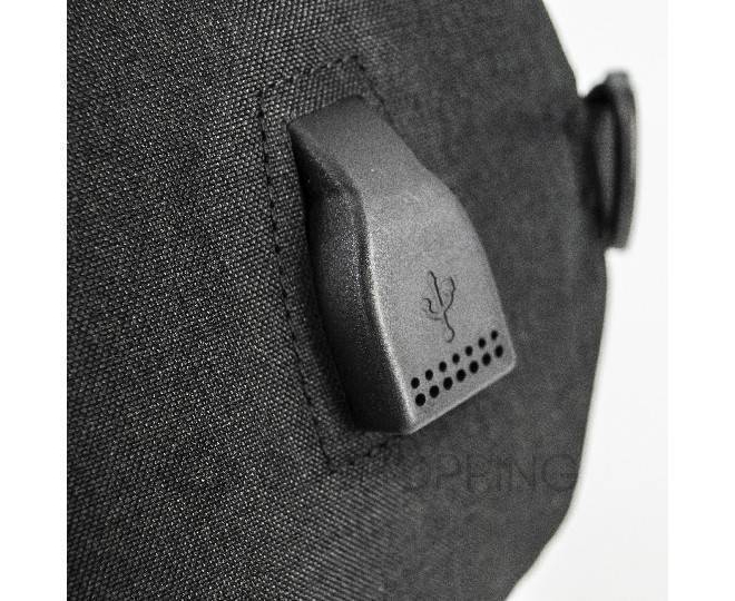 Рюкзак текстильный черный C130-01 Kingth Goldn, фото 2